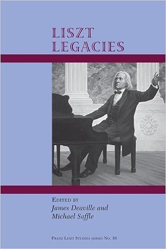 Book Liszt's Legacies (Franz Liszt Studies) (Franz Liszt Studies: Analecta Lisztiana, 4) by Deaville (2014-10-30)