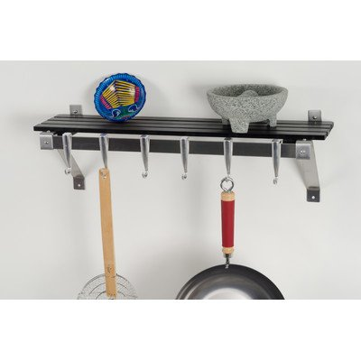 Concept Housewares PR-40326 Wall Rack, Gray