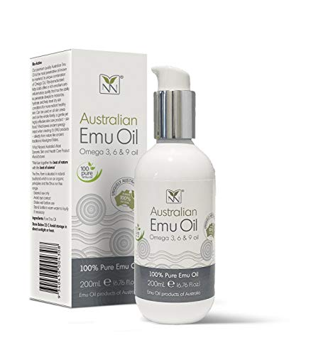 Y-Not Natural – Organic Pharmaceutical 100% Pure Emu Oil 200ml | Free Range Aboriginal Omega 3, 6 & 9 Oil for…