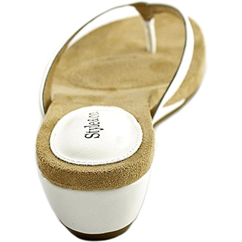 Style & Co. Sandales pour Femme White SRRtI0fAs8