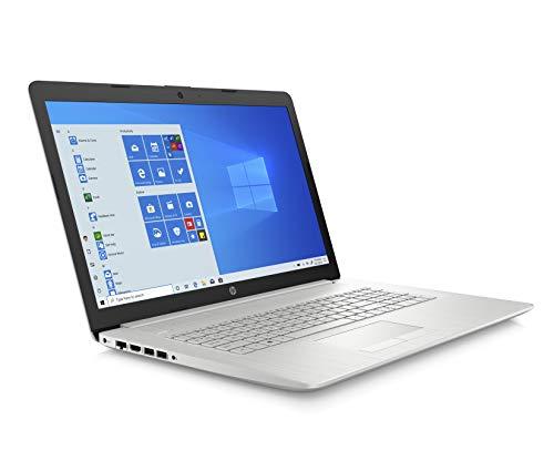 HP 17-by2021na 17.3 Inch HD+ Laptop, Intel Pentium Gold 6405U, 4 GB RAM, 1 TB HDD, Windows 10 Home – Silver