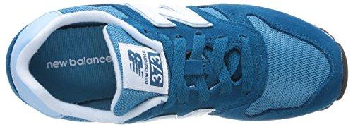 373 Donna Balance Basso New Sneaker blu A Smb Collo Blu 5OqUvZawHA