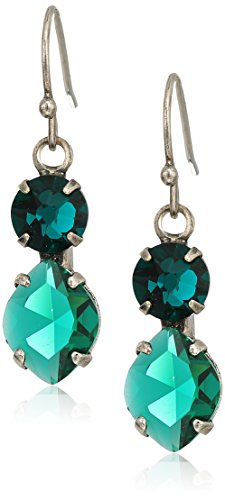 Sorrelli Essentials Emerald Majestic Marquise Drop Earrings