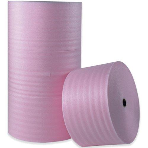 Aviditi FW14S18AS Polyethylene Anti-Static Air Foam Roll, 250