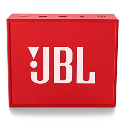 JBL GO Bluetooth Speaker (2-pack) with Speakerphone, Red