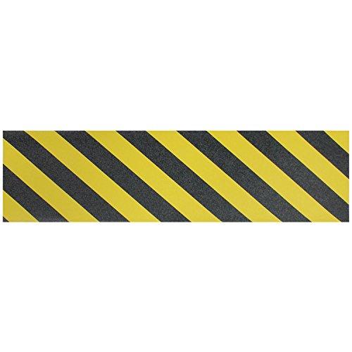 Black Diamond Longboard Griptape 10x48 Colors (Single Sheet) Caution