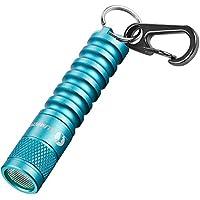 led Keychain Flashlight Torch,mini keyring flashlight Torch-LUMINTOP EDC01,120 lumens portable EDC small Flashlight…