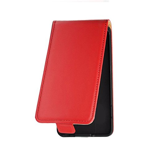 Flip Hülle Apple Iphone 7 Hülle in Flipstyle Handytasche für Apple Iphone 7 Tasche rot