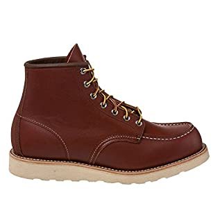 "Red Wing Shoes Men's 6"" Classic Moc Boot,Oro-Russet Portage,9 D(M) US (B002RSCZF6) 