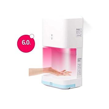 Secador de manos eléctrico automático Secador de manos caliente y frío de inducción inteligente, Ultra silencioso ...