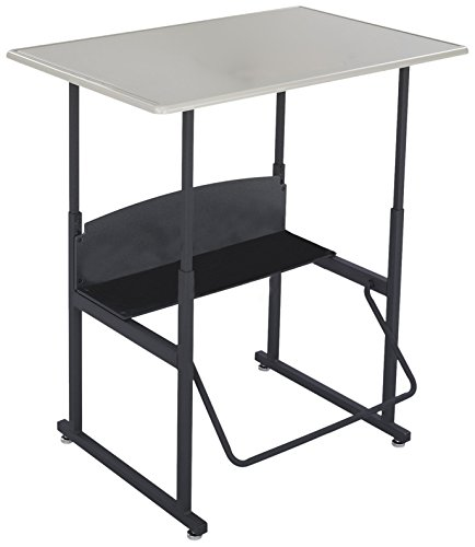 Safco Products AlphaBetter Adjustable-Height Desk, 1206BE, 36