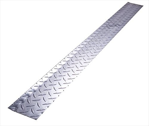 Alligator Board ALGBRD4x48ALUM Aluminum Kick Plate/Floor Molding - Pack of 2