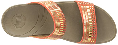 Sandal Chada Women's Ultra fitflop Slide Orange Aztec EOqIwBwWAn