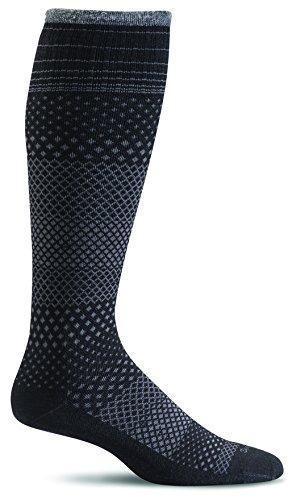 ro Grade Graduated Compression Socks, Black, Medium/Large ()