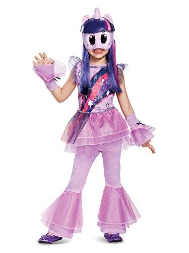 Twilight Sparkle Movie Deluxe Costume, Purple, X-Small (3T-4T)]()