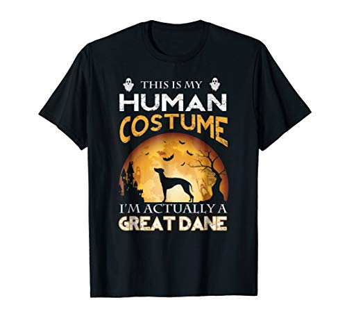 This is My Human Costume I'm Actually a GREAT DANE T-Shirt