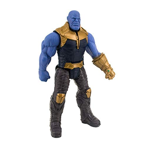 Thanos no box -Type1980 New Marvel Titan Hero Avengers Infinity War Thanos Iron Spider Captain America Black Panther Hulk Hulkbuster Action Figure Toy - Marvel Legends Captain Marvel