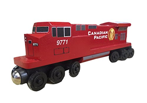 4 Diesel Engine Toy Train by Whittle Shortline Railroad (Canadian Pacific Passenger Trains)