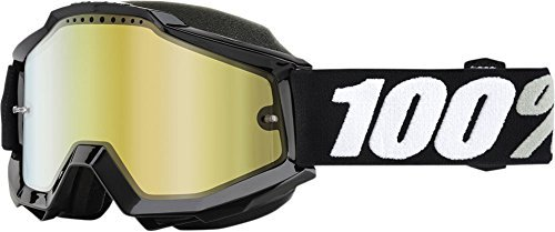 100% Accuri Tornado Mirror Snowmobile Goggles by 100 PERCENT