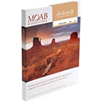 Moab Slickrock Metallic Pearl Resin Coated Inkjet Media, 260gsm, 12mil, 5-x7, 50 Sheets