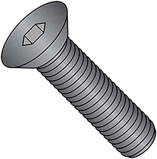product image for Holo-Krome 60064, 1/4-20x1 Flat Socket Cap Screw, Steel, Black Oxide, UNC, USA, 100/Pk