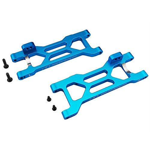 Hot Racing ECT5606 Blue Aluminum Rear Arm Set ECX, Blue