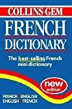 Collins Gem French Dictionary, Collins Publishers Staff, 0004589777