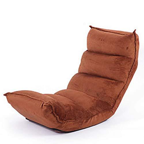 DLLZq Folding Sofa,Lazy Couch Tatami Single Bed Small Sofa Bay Window Chair Floor Chair,Coffee