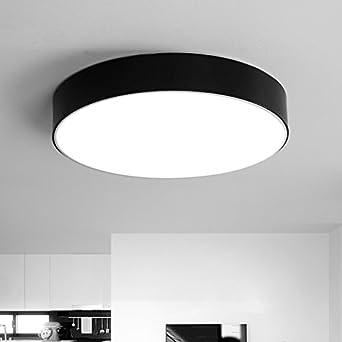 LED plafonnier simple nordique retro style industriel mode salon ...