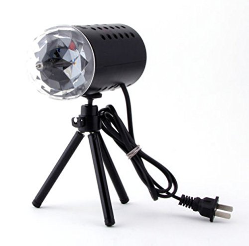 Lighting Stage LED Mini Projector RGB DJ Disco Design Show Xmas Party Halloween Lights (Halloween Party Asu)