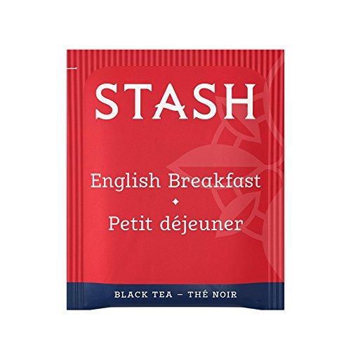 Stash Tea English Breakfast Black Tea 1000 Count Box of Tea Bags in Foil by Stash Tea (Image #1)