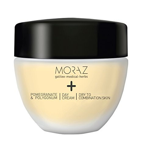 Moraz Day Cream for Dry to Combination Skin+ Pomegranate & Polygonum (1.7 fl.oz. 50 - Very Dry Oz 1.7 To