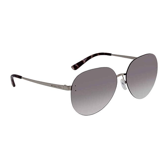 Michael Kors 0MK1037 Gafas de sol, Shiny Silver, 60 para ...