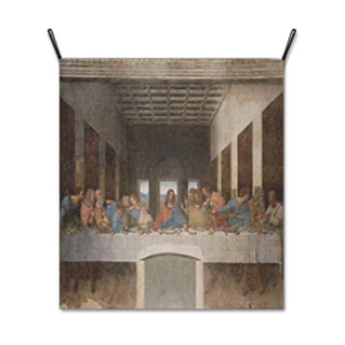 AbundanceHomeDesign The Last Supper by Leonardo da Vinci/Hanging Poster/Tapestry Wall Hanging/Printed on Premium Fabric/Famous Painting Art Collection - Large 39.37