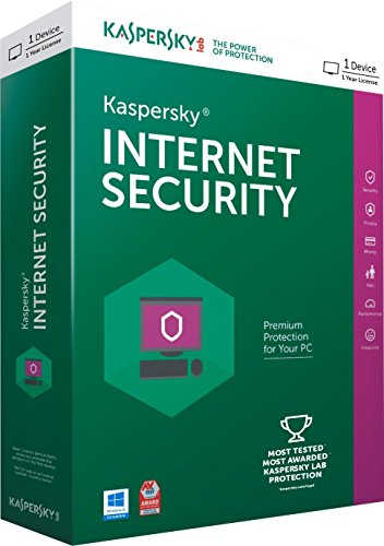 Kaspersky Internet Security 2016 – 1 PC, 1 Year (CD)