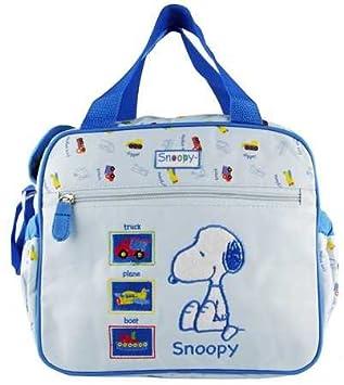 Amazon.com: Bebé Azul de Snoopy – Bolso cambiador/Cooler Bag ...