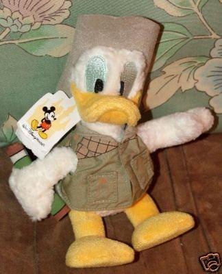 (Disney Donald Duck Stuffed Safari Plush)