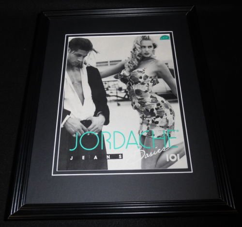 1992-jordache-jeans-framed-11x14-original-vintage-advertisement
