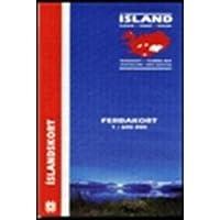 Island Touring Map 1 : 600 000. Ferdakort (Maps of Iceland)