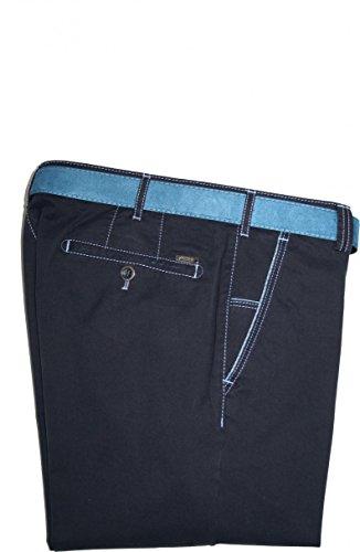 Meyer Hosen - Jeans - Jambe droite - Uni - Homme bleu bleu