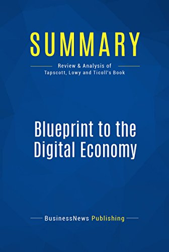 Amazon summary blueprint to the digital economy review and summary blueprint to the digital economy review and analysis of tapscott lowy and malvernweather Choice Image