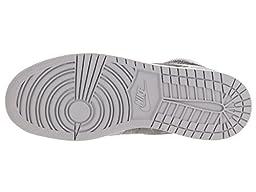 Nike Jordan Kids Air Jordan 1 Retro Hi Prem GG Wolf Grey/Metallic Silver/White Basketball Shoe 5.5 Kids US
