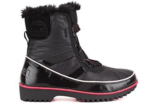 Sorel Women's Tivoli II Black Faux Fur Boot, 5