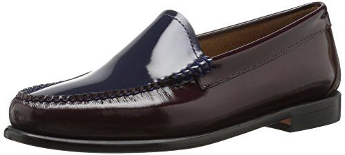 G.H. Bass & Co. Women's Westlyn Penny Loafer - Burgundy/N...