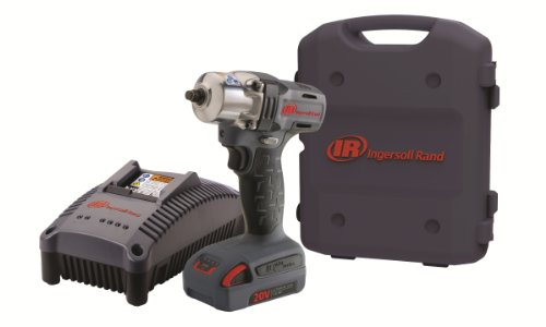 Ingersoll Rand W5130-K1 3/8-Inch Mid-Torque Impactool Kit with Charger, Li-Ion Battery and (Ingersoll Rand Case)