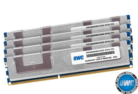 (OWC 16.0GB (4 x 4GB) PC8500 DDR3 ECC 1066 MHz 240 pin DIMM Memory Upgrade Kit For 2009 Mac Pro and Xserve)