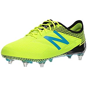 New Balance Men's Furon 3.0 Pro SG Soccer Shoe, Hi Lite/Maldives, 9.5 D US