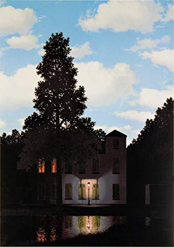 (Rene Magritte-Empire of The Light, Brussels (Mini)-2012 Poster)
