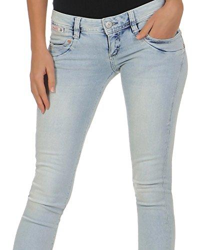 Blau Herrlicher Jeans 723ice Herrlicher Donna Donna Blau Jeans 723ice AtaS7Ow