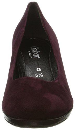 Gabor Damen Comfort Moda Pompe Rot (nuovo Merlot)